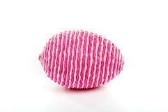 Striped egg Royalty Free Stock Images