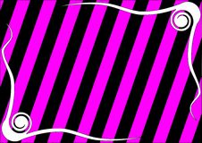Striped emo background Stock Photography