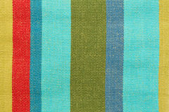 Striped fabric stock image