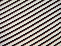 Striped fabric. White striped fabric suitable as background Royalty Free Stock Images