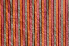 Striped fabric Royalty Free Stock Image