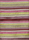 Striped fabric. Multi-colored striped fabric texture Royalty Free Stock Image