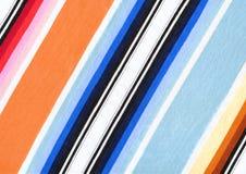 Striped fabric Stock Photos