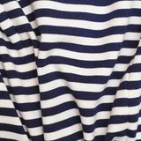 Striped fabric. Background. Marine colors Royalty Free Stock Images