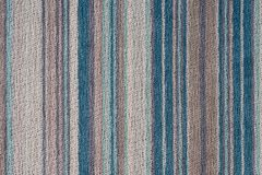 Striped fabric background texture. stock photography