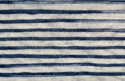 Striped fabric blue and white Stock Images