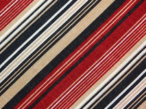 Striped fabric Stock Images