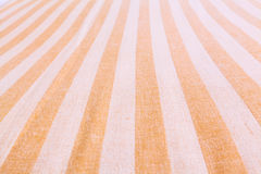 Striped fabric soft focus Royalty Free Stock Photo