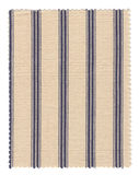 Striped Fabric swatch Royalty Free Stock Photos