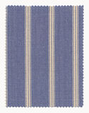 Striped Fabric swatch Royalty Free Stock Photography