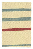 Striped Fabric Swatch Stock Photo