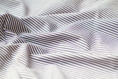 Striped fabric. Textile abstract background Stock Photo