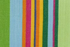 Striped fabric texture Stock Photos