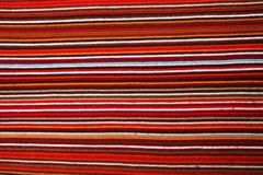 Striped fabric texture. Close up of striped fabric texture royalty free stock image