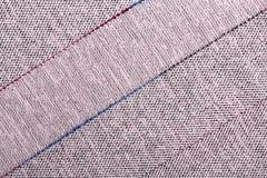 Striped fabric texture Stock Photo