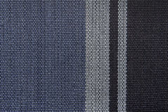 Striped fabric texture Royalty Free Stock Images