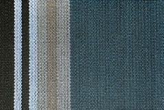 Striped fabric texture. Close up of the striped fabric texture Stock Photography