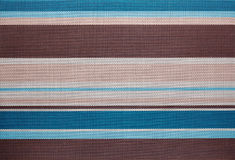 Striped fabric texture. Royalty Free Stock Images