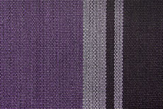 Striped fabric texture Royalty Free Stock Photos