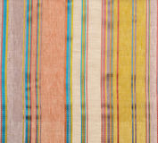 Striped fabric wallpaper Stock Images