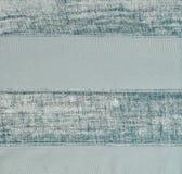Striped fabric wallpaper Stock Image