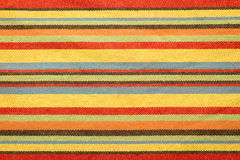 Striped fabric wallpaper Royalty Free Stock Photography