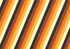 Striped fabric. In warm colours royalty free stock photos