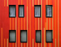 Striped facade Royalty Free Stock Image