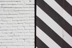 Striped fence Royalty Free Stock Photography
