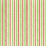 Striped festive bright background in green and red line.  Royalty Free Stock Image