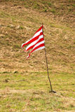 Striped flag Stock Photography