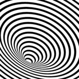 striped geometric spiral stock illustration