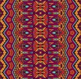 Striped geometric tribal ethnic seamless pattern. Tribal vintage abstract geometric ethnic seamless pattern ornamental Stock Photo