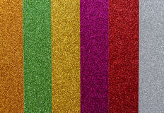Striped glitter Stock Images