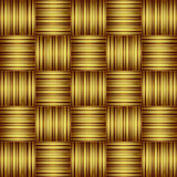 Striped Golden Background Royalty Free Stock Photos