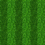 Striped green grass field seamless vector texture. Grass repeat organic, grass gridiron field, soccer or football playing grass field illustration Royalty Free Stock Photo