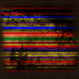 Striped grunge background Royalty Free Stock Photography