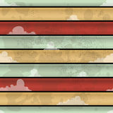 Striped grunge background. Abstract colorful striped grunge style background with decorative effect Royalty Free Illustration