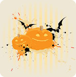 Striped Halloween background Stock Images
