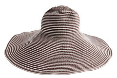 Striped  hat Royalty Free Stock Photography