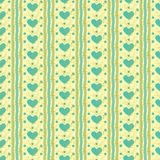 Striped heart pattern Royalty Free Stock Photos
