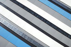 Striped industrial background Stock Photography