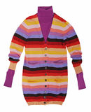 Striped jacket Royalty Free Stock Image