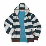 Striped jacket Stock Photography