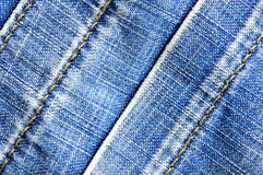 Striped jeans texture Stock Image