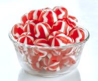 Striped jellies group Stock Photos