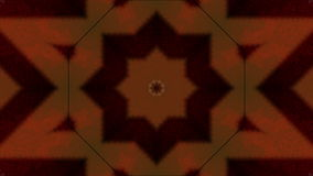 Striped kaleidoscope on black stock video footage