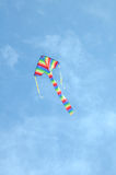 Striped kite Stock Photography