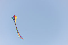 Striped kite Royalty Free Stock Images