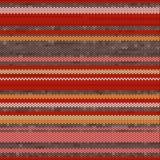 Striped Knit Seamless Pattern, illustration Stock Image
